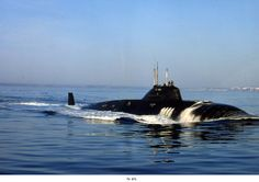 Russian submarine project 671, Victor class.