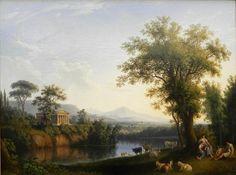 Hackert, Jakob Philipp - Paysage italien avec rivière - Alte Nationalgalerie, Berlin