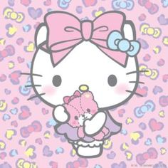 Hope you're having a supercute week! Hello Kitty Fotos, Hello Kitty Vans, Hello Kitty My Melody, Hello Kitty Pictures, Sanrio Hello Kitty, Hello Kitty Characters, Sanrio Characters, February Wallpaper, Hello Kitty Collection