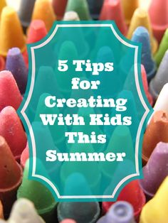 #HPCreate 5 Tips for Creating with Kids this #summer
