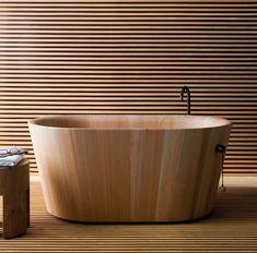 moderne badewannen aus holz ofuro matteo thun rapsel