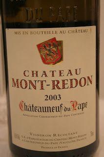 VINODABERE:  Chateau mont-redon 2003  Parliamo di Chateau mont...