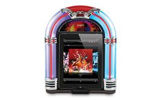 Happy Days Are Here Again! The iPad Jukebox Dock has a vintage look and modern capability. booZhee.com #booZhee