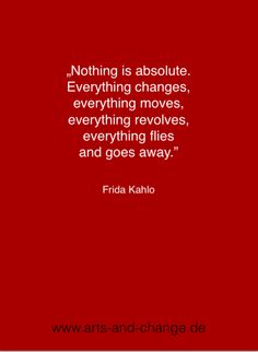 Nothing is absolute...