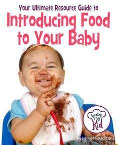 What you need to know before starting solids with your baby!  Your Ultimate Guide To Introducing Food to Your Baby from Feeding My Kid. Introducing Baby Food. Starting Baby Food. Baby Purees.