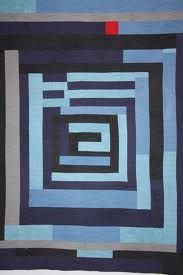 gee's bend quilt, Love the abstract design and the colors - especially the single red square.