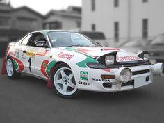 Classic Toyota Celica rally car ~ SEGA Rally introduced me to the world of Toyota