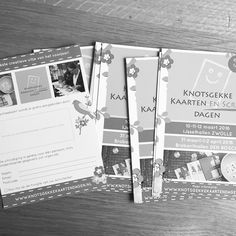 Ik heb geblogd! Win jouw gratis toegangskaarten voor de Knotsgekke Kaarten en Scrapdagen in Zwolle op 10, 11 en 12 maart! Ga naar postenpapier.nl/blog voor meer info #winnen #gratis #knotsgekkekaartendagen