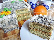 Маково-апельсиновый торт пользователя Natali