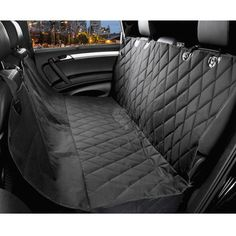 Pet Dog Seat Covers for Cars WaterProof, Black, Hammock Convertible -- Check out this great product. (This is an affiliate link) #Doggies