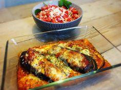 Melanzane parmigiana, berenjena parmesana, aubergine parmesan… Hoe je het ook noemt: ik ben er gek op!Heel simpel gezegd is het een ovengerecht van plakken aubergine met tomatensaus en parme…