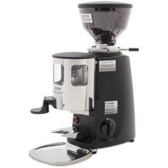Widely known for commercial grinders, Mazzer has made a grinder with similar capabilities for home use in the Mazzer Mini. Start brewing better coffee today with the Mini. Best Coffee Grinder, Coffee Grinders, Coffee Industry, Coffee Today, Double Boiler, Thing 1, Espresso Coffee, Drip Coffee Maker, Coffee Shop