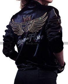 Carolina Ramirez, Flow, Jackets For Women, Dress Up, Bomber Jacket, Leather Jacket, Queen, Celebrities, Clothes