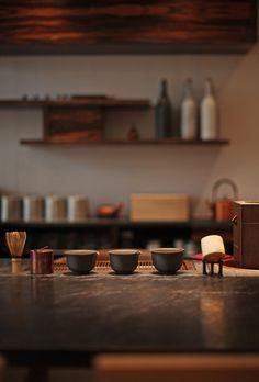 thekimonogallery:  Tea ceremony utensils. Japan. Image via Pinterest