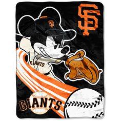 San Francisco Giants Mickey Throw.  Love Mickey....Love the Giants!!