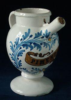 French colonial wet drug pharmacy jar.