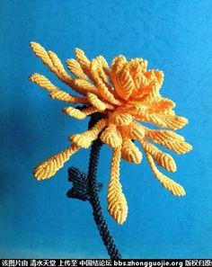 Macrame Sunflower More Macrame Flowers In My Gallery