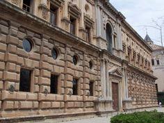 Pedro de Machuca. Fachada el Palacio de Carlos V.