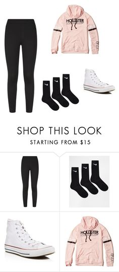 """""""any day look"""" by pa6739 on Polyvore featuring NIKE, Converse and Hollister Co."""