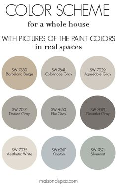 Best Neutral Gray And Greige Paint Colors In This Blog Post I M