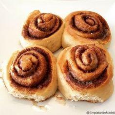 Receta de cinnamon rolls: los rollos de canela que siempre soñaste