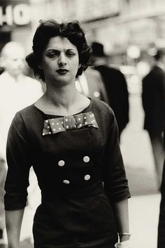 Woman in a Bow Dress, N.Y.C., 1956 Christie's Photographs by Diane Arbus