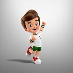 Tirolzinho on Behance - Cartoon Baby Cartoon Drawing, Cute Cartoon Boy, Cute Cartoon Pictures, Cute Love Cartoons, Cartoon Drawings, Cartoon Wallpaper Hd, Boys Wallpaper, Cute Disney Wallpaper, Tiger Wallpaper