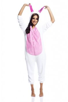 Pin for Later: The 1 Halloween Costume That Will Make All Your Friends Jealous A Rabbit With Quite Long Ears AX Paris Rabbit Onesie ($48)