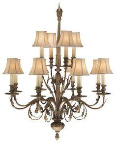 Verona Chandelier, 710340ST traditional chandeliers