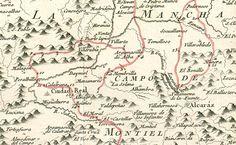 Viajar con El Quijote. En muchas de las ediciones de la Biblioteca aparece un curioso mapa en el que se representan los viajes que realizó un personaje de ficción, don Quijote.