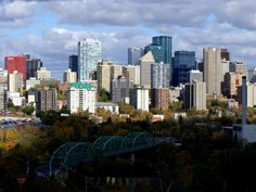 Edmonton is the capital of the province of Alberta. It is on the North Saskatchewan River and is the centre of the Edmonton Capital Region, which is surrounded by Alberta's central region. With damn cold winters, and gorgeous summers; this is my home city.