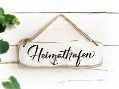 Heimathafen Schild Gartendeko Gartendekoration maritime Deko Wohnzimmer Holz Garten Holzsschild Gartenschild Anker Holzschilder Spruch – Keep up with the times.