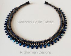 PDF Pattern Kumihimo Inside/Outside Drop por RShermanDesigns