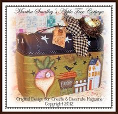 E Pattern Martha Smalley's Apple Tree Cottage by appletreecottage