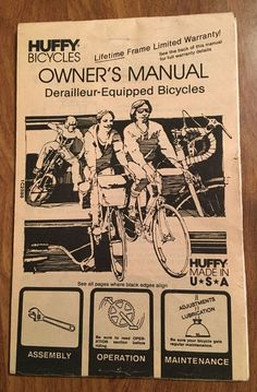 740 best owners manual images on pinterest messages positive details about vintage 1986 huffy bicycle owners manual lifestyle marketing card model 86907 fandeluxe Images