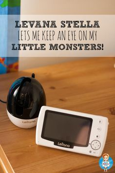 When we have more kids this will be perfect  How I keep an eye on my little monsters with the Levana Stella video camera baby monitor