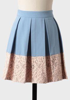 Melimeo Stroll Pleated Skirt at #Ruche @Ruche