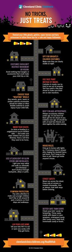 Halloween Safety Tips for your kids. #halloween #parenting