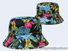 online store d2857 bebf8 NBA Cleveland Cavaliers Bucket Hats Flora Colorful 501