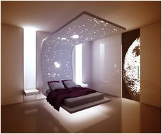 Floating Bed   FLOATING BED - MINIMALIST DORMITORY : BEDROOMS DECORATING IDEAS…