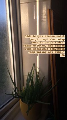 (notitle) - Feelings quotes -You can find indonesian quotes and more on our website. Quotes Rindu, Tumblr Quotes, Text Quotes, Mood Quotes, People Quotes, Qoutes, Life Quotes, Reminder Quotes, Message Quotes