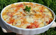 Cukkinis rakott burgonya (gratin dauphinoise) Recept képpel - Mindmegette.hu - Receptek Cheescake Recipe, Cheeseburger Chowder, Macaroni And Cheese, Bacon, Food And Drink, Soup, Lunch, Breakfast, Ethnic Recipes