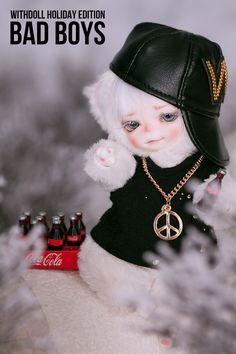 #WITHDOLL #Holiday Edition #BadBoys #Ermine #16cm #BWD #Animal #Jax #CreamWhite skin #hiphop