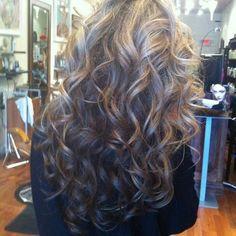 Lose curls