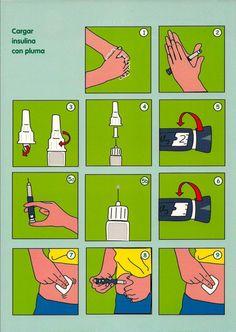 Guía Educativa de Diabetes Infantil elaborada por el Grupo de Enfermeros Educadores en Diabetes... pinned with Pinvolve