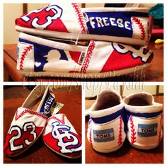 Freese themed shoes