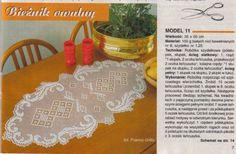 Kira crochet: Crocheted scheme no. 612
