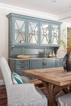 House of Turquoise: Threshold Goods and Design. love the color of this piece. Like for color of a kitchen island