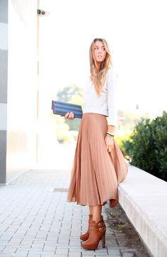 Skirt Zara, Pinko Boots
