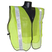"""Radians Hi Vis Green Vest NON Rated 2"""" Reflective Tape SVG2 
